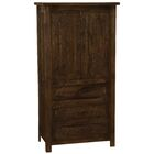 Premium Frontier Armoire Color: Red Canyon