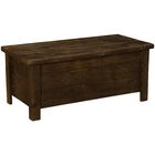 Frontier Coffee Table with Storage Color: Midnight
