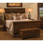 Barnwood Uptown Panel Bed Size: Queen