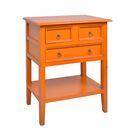 Newton End Table Color: Antique Orange