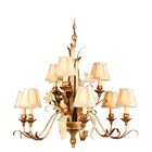 Mccormick 9-Light Shaded Chandelier