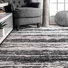 Stamant Black Area Rug Rug Size: Rectangle 5' x 8'
