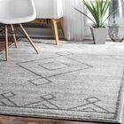 Ottino Gray Area Rug Rug Size: Rectangle 7'6