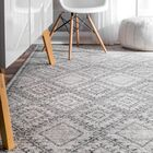 Nethermere Gray Area Rug Rug Size: Rectangle 5' x 8'