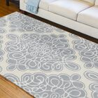 Modern Classics Cream Area Rug Rug Size: Rectangle 5' x 8'