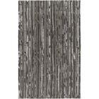 Modern Classics Black/Light Gray Rug Rug Size: Rectangle 5' x 8'