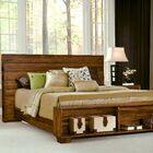 Chelsea Park Storage Platform Bed Size: King