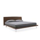 Dixie Platform Bed Size: Queen, Color: Grey, Leg Color: Polished Aluminium