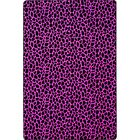 Pink/Black Area Rug Rug Size: Square 12'