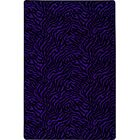 Black/Purple Area Rug Rug Size: Rectangle 12' x 15'