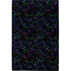 Green/Black/Purple Area Rug Rug Size: Rectangle 12' x 15'