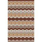 Native Geometric Hand Woven Wool Brown/Beige Area Rug Rug Size: Rectangle 3'3
