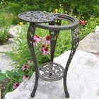 Grape Side Table Finish: Antique Bronze