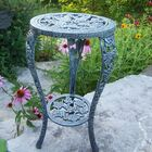 Grape Side Table Finish: Verdi Grey