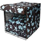 Kurt Your Hand In Mine Dog Crate Cover Size: 31