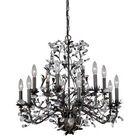 Trellis 12-Light Candle Style Chandelier