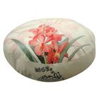 Round Orchid Dog Pillow Size: Large (38