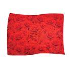 Red Rose Pet Throw Size: X-Large