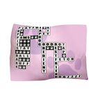 Rectangle Crossword Puzzle Dog Pillow Size: Extra Large (42