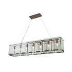 Recycled Tinley 7-Light Kitchen Island Pendant Finish: Hammered Ore
