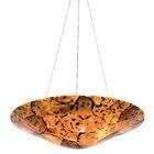 Big 3-Light Bowl Pendant Finish: Chocolate Tiger