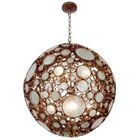 Fascination 8-Light Pendant Finish: Hammered Ore