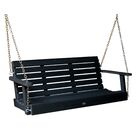 Phat Tommy Weatherly Porch Swing Finish: Black