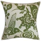 Campeche Floral Cotton Throw Pillow Cover Size: 20