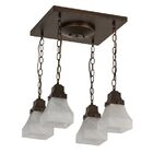 Bungalow 4-Light Flush Mount