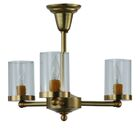 Bakersfield 3-Light Semi Flush Mount