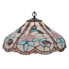 Tiffany 1-Light Hummingbird Bowl Pendant