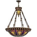 Victorian Tiffany 6-Light Bowl Pendant