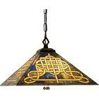 Mission Tiffany 4-Light Pool Table Light