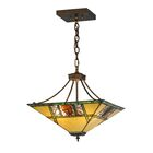 Pinecone Ridge 4-Light Bowl Pendant Size: 20-49