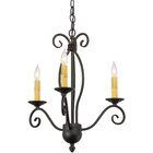Greenbriar Oak 3-Light Candle Style Chandelier