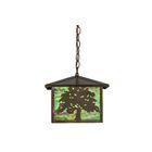 Oak Tree 1-Light Lantern Pendant Size: 43