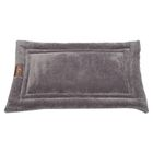 Ripple Velour Cozy Mat Color: Silver, Size: Extra Large - 42