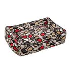 Vines Lounge Bolster Pet Bed Size: Large (48
