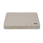 Pearl Premium Cotton Blend Rectangular Pillow Bed Color: Gray, Size: Large (42