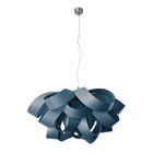 Agatha 3-Light Novelty Chandelier Size: Large, Bulb Type: E26 Base, Finish: Brushed Nickel