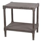 Aleshire End Table Color: Brown