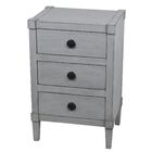 Alexis 3 Drawer End Table