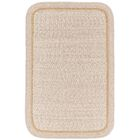 Browdy Banded Sesame Area Rug Rug Size: Rectangle 10' x 13'
