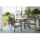 River House 5 Piece Sunbrella Dining Set With Cushions