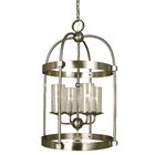 Compass 4-Light Foyer Pendant Color: Brushed Nickel