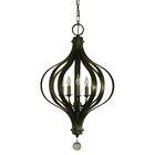 Aries 5-LightFoyer Pendant Color: Mahogany Bronze