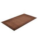 Solid Dante Doormat Color: Brown, Mat Size: Rectangle 4' x 6'
