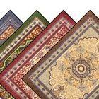 Orientrax Hillcrest Doormat Mat Size: 4' x 6', Color: Emerald