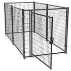 Lucky Dog� Modular Welded Wire Kennel Kit Size: 4' H x 4' W x 8' L