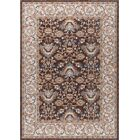 Matteson Traditional Brown/Orange Area Rug Rug Size: 5'3'' x 7'3''